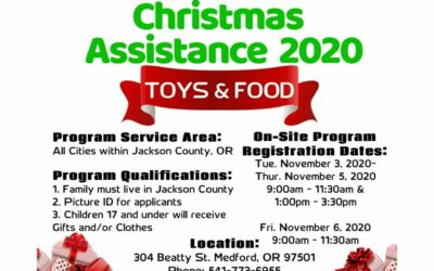 Salvation Army Christmas Assistance 2020